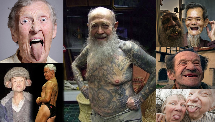 TOP Funny Old Man Pictures