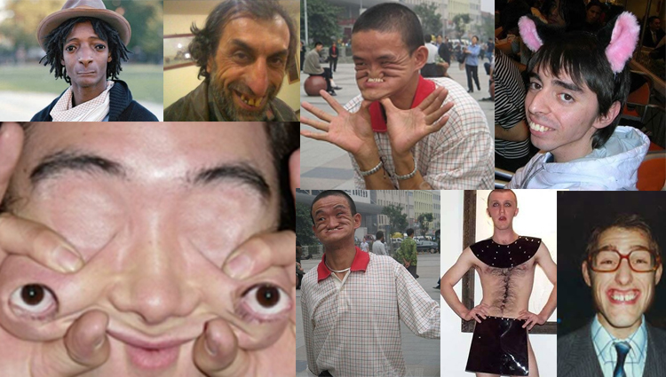 Ugly and Crazy Men funny photos