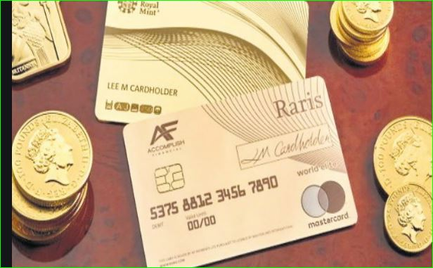 Royal Mint unveils a solid gold 18 carat payment card