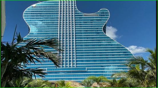 Guitar Hotel in Hollywood where one night fare is about 70 thousand rupees