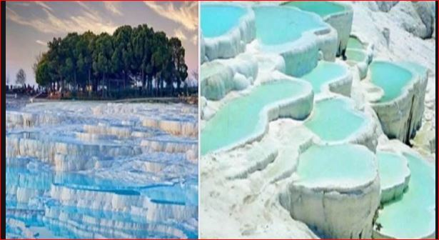 Pamukkale Thermal Pools Turkey Mysterious