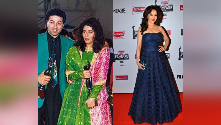 bollywood celebrities look like this in 15 years ago in award function