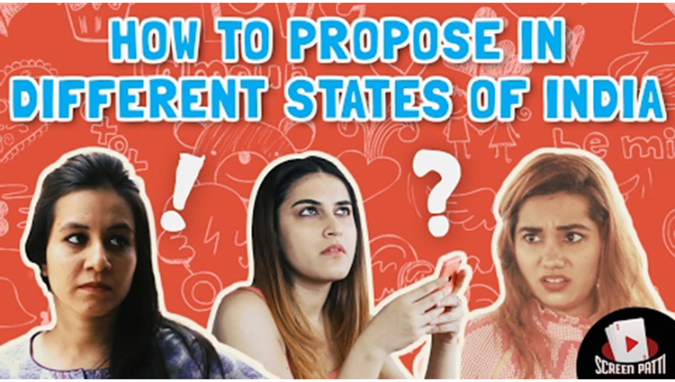 How to Propose a girl in Different States of India