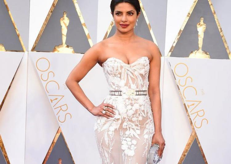 priyanka chopras oscar dress is on 7th position on google