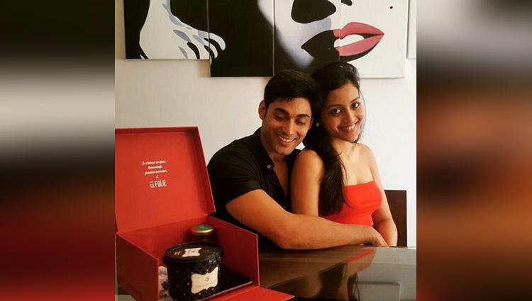 ruslaan mumtaz lip lock with his wife