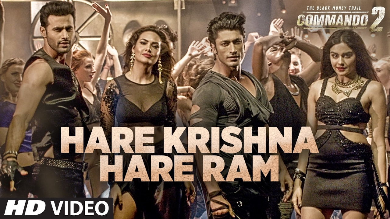 commando 2 new song hare krishna hare ram