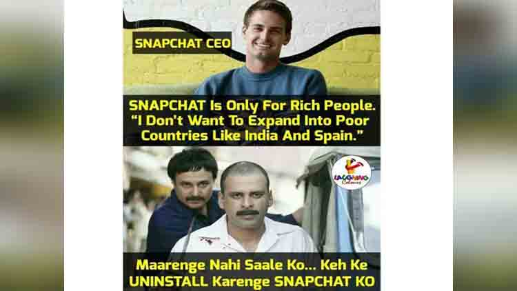 Twitter storms out after Snapchat CEO calls India a poor country