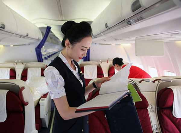 viral pictures of chinese air hostess