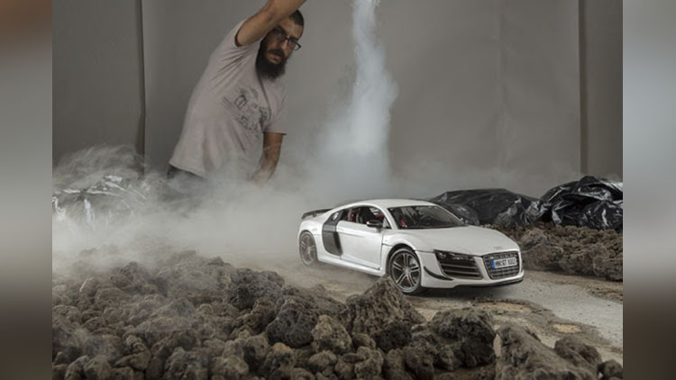 These Audi R8 Photos Were Shot with a Model Car and Clever Angles
