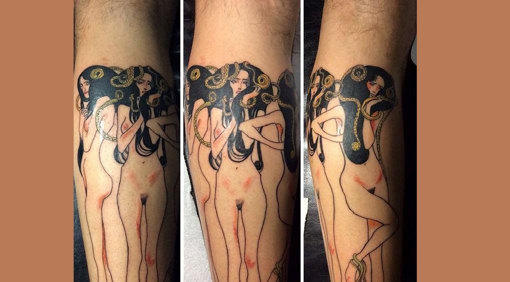 Art tattoos trending