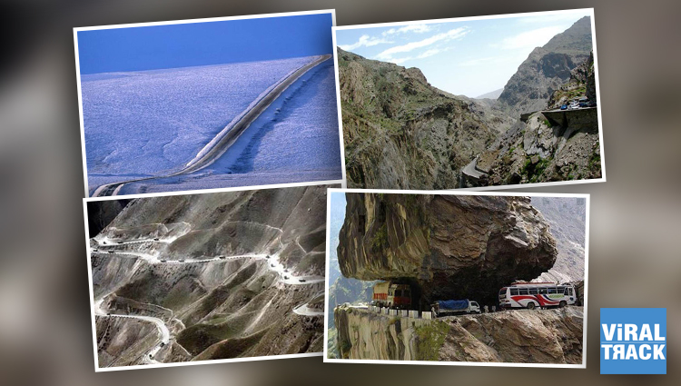 Traveling On These Deadliest Roads is Definitely A Bad Idea, Would You Still Dare??