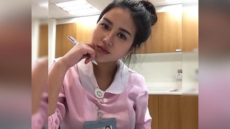 Meet the worlds sexiest nurse who has won thousands of followers
