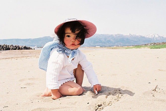 very cutest baby of japan