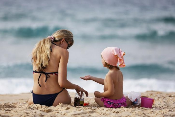 Mother-child relationship photos