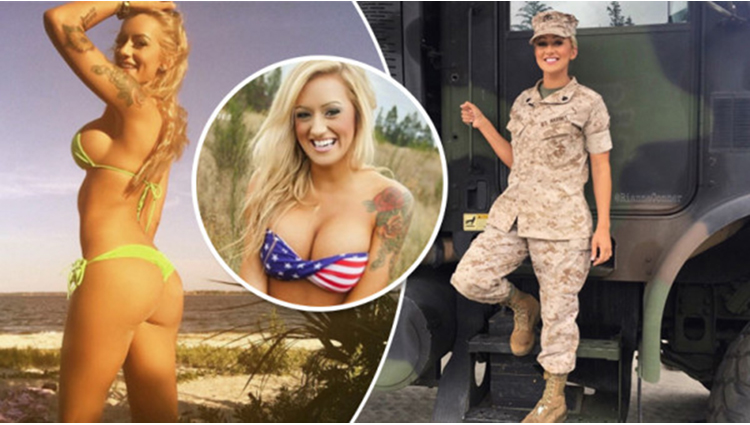 Meet Combat Barbie The Sexy Marine Whose Firing Up Instagram