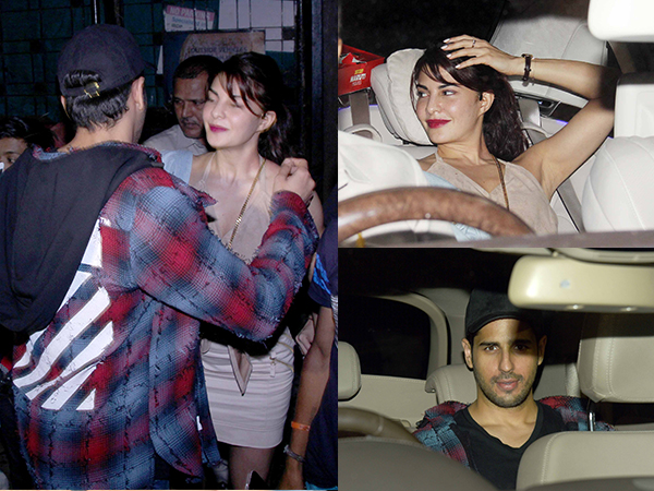 Sidharth Malhotra and Jacqueline Fernandez Spotted Together Spending Time Alone