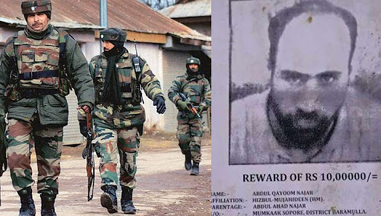 Indian Army Killed Top Hizbul Mujahideen Commander