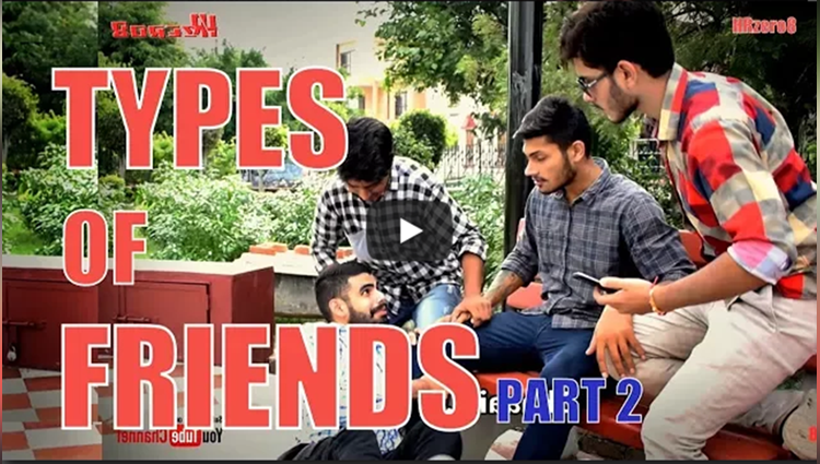 Types of Friends Part 2 Funny HRzero8