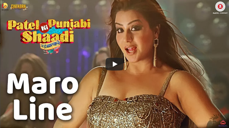 Shilpa shinde latest item song Maro Line