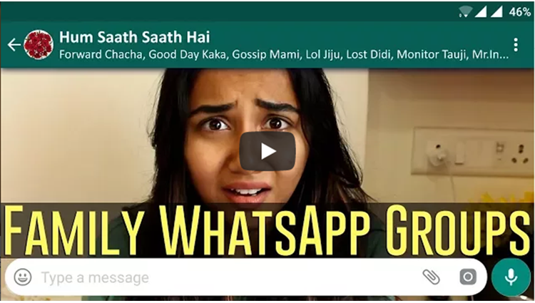 Every Family WhatsApp Group Ever MostlySane