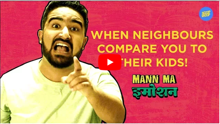 ScoopWhoop When Neighbours Compare You To Their Kids