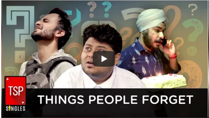 Video: Things People Forget Often