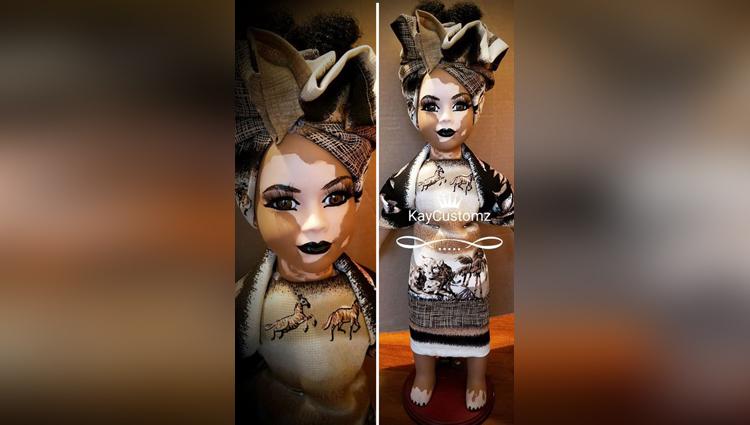 Artist Creates Custom Made Dolls with Vitilligo Skin Condition