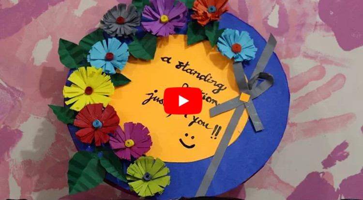 Teachers Day Card Making Idea ft Ranji Raj Nair Handmade Appreciation Card for Teachers day