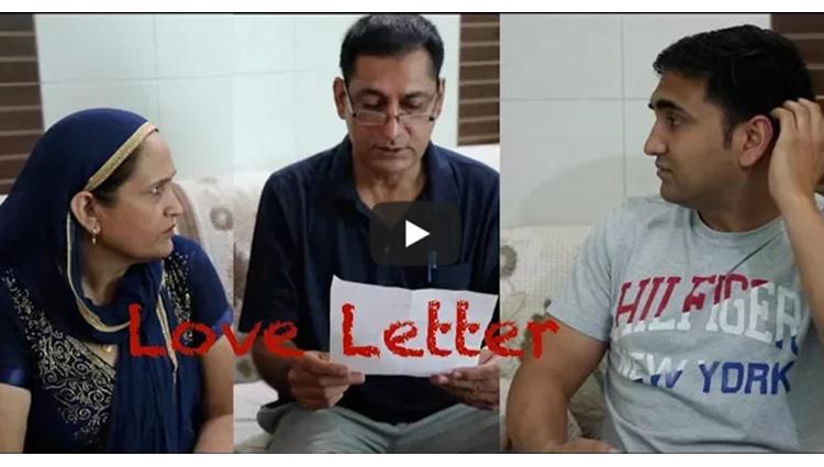 Love letter pakda gaya Lalit Shokeen Films