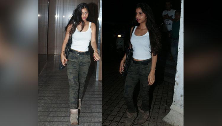 Suhana Khan Is Dressing Down In Casual Look