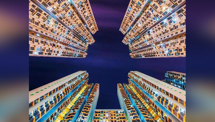 Stunning Photos Of Hong Kong High-Rise Apartment Buildings