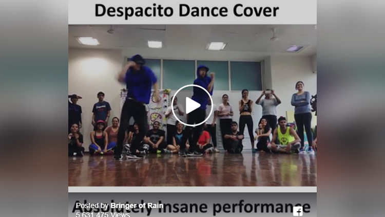 despacito song viral dance