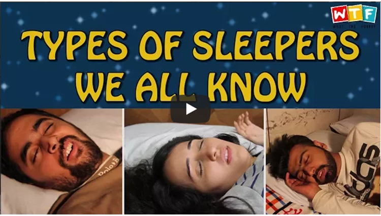 Types Of Sleepers We All Know WTF What The Fukrey