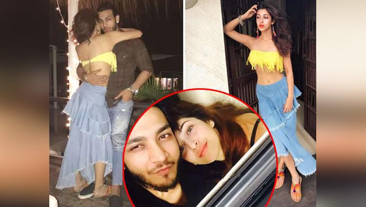 devo ke dev fame sonarika aka parvati gets cosy with boyfriend vikas parashar