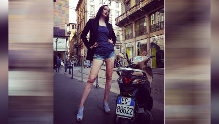 Model with longest legs ekaterina lisina