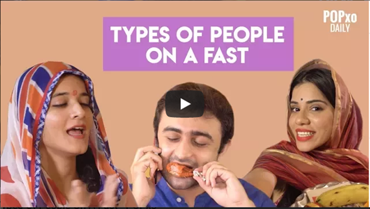 Types Of People On A Fast POPxo