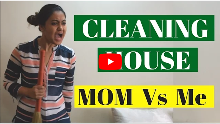 Cleaning House Me Vs Mom Indian House Cleaning Captain Nick
