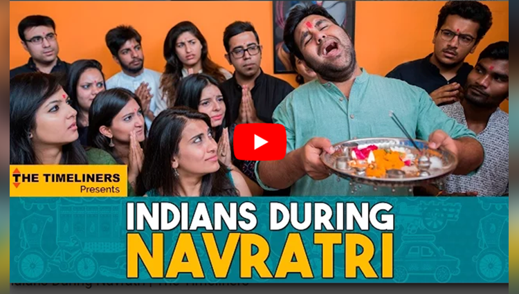 Indians During Navratri The Timeliners