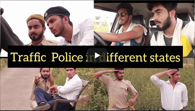 TRAFFIC POLICE IN DIFFERENT STATES Elvish Yadav