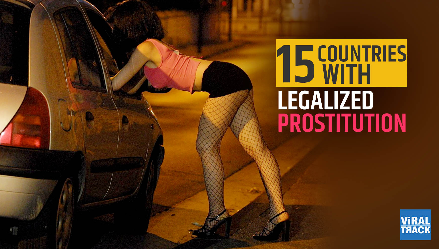 15 countries with Legalized prostitution