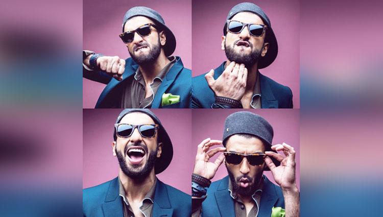 Ranveer Singh addicted selfie