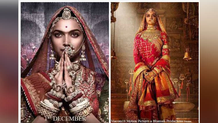 Padmavati first posters On Navratri Deepika Padukone reveals the goddess queen