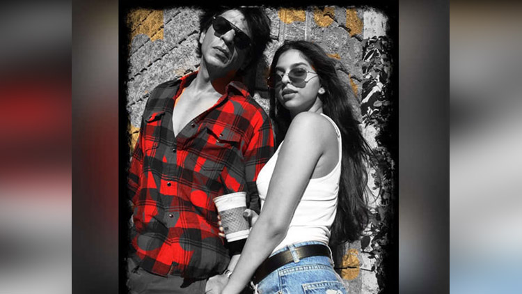 Shahrukh Khan New Photos With Daughter Suhana