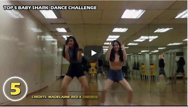 Top 5 Baby Shark Dance Challenge Pinoy Version Laughtrip ang no 1 at no 3