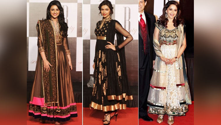 Top 10 Bollywood Actresses Who Looks Beautiful In Salwar Suit