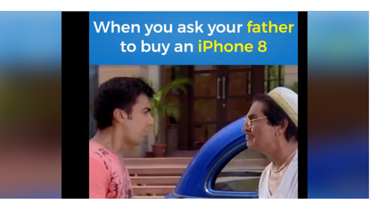 What Happens When You Ask Money From Your Father To Buy An iPhone 8!