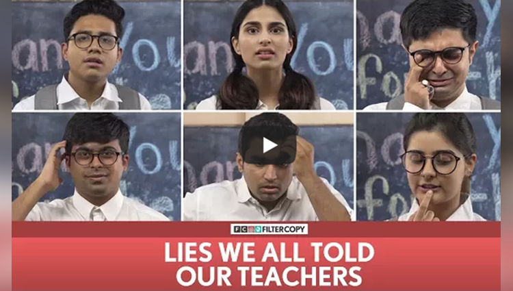 FilterCopy Lies We All Told Our Teachers  Ft Banerjee, Akash Deep Aisha