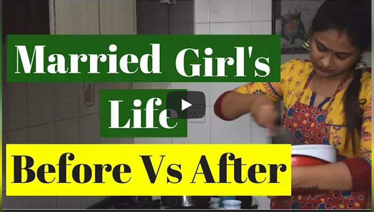Life of Married girl Before Vs After Captain Nick