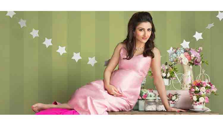 Soha Ali Khan Look Like The Cutest Mom To Be In This New Photoshoot