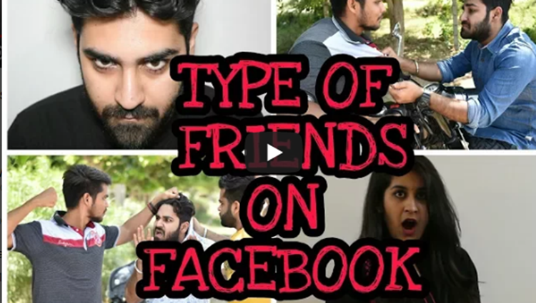 Type of Friends on Facebook Trendy Wings Sushant Maggu Funny Videos 2017